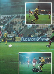 Norwich City vs Luton Town - 1991 - Page 7 (The Sky Strikers) Tags: norwich city luton town barclays league division one carrow road official matchday programme pound twenty