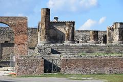 Columns At Pompeii (meg21210) Tags: columns pompeii ancient ruin ruins naples campania italy italia walls wall stone cosmos tour fall2016 roman structures