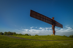 Angel of the North (tbnate) Tags: angelofthenorth angel north sculpture art figure tbnate tyne wear tyneandwear gateshead nikon nikond750 d750 architecture sky clouds grass hill landscape outdoor outside ultrawideangle ultrawide samyang 14mm