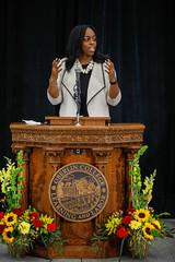 Carmen Twillie Ambar, new president of Oberlin College (Oberlin College) Tags: oberlincollege collegepresident carnegiehall