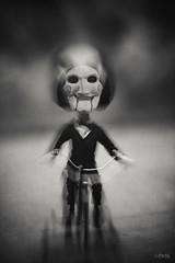 O_O (MerchePortu) Tags: jigsaw game play fear scream terror film saw cine miedo horror juego juguete