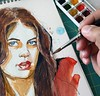 Working on new #blueeyes #watercolor #Portrait #colorful #painting #KadisArt #sketch #pencil #beautiful #sexy #redlips #watercolour #sketchbook #artlovers #illusration #galleryart #artistic_share #popart #wpapart #art_we_inspire #artwork #instaart #artist (ahmad kadi) Tags: instagram working new blueeyes watercolor portrait colorful painting kadisart sketch pencil beautiful sexy redlips watercolour sketchbook artlovers illusration galleryart artisticshare popart wpapart artweinspire artwork instaart artist art artwall birthday رسم رسامينالعرب كلنارسامين رسامين