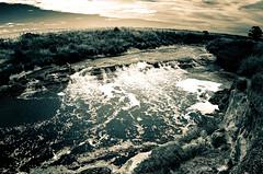 Todos los ríos van al mar (mujik estepario) Tags: pentaxk5iis smcpentaxdafisheye1017mmf3545ed pentaxlife pentax pentaxart claromecó cascada arroyo virado