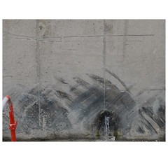 Cement industry (michelle@c) Tags: urban suburban manmade landscape industrial industry cement tracks wall red abstract harbour victor paris xv 2017 michellecourteau