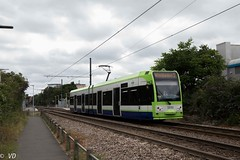 Tramlink London Bombardier Flexity Swift CR4000 (Vitalis Fotopage) Tags: tramlink london bombardier flexity swift cr4000 transport tram tramway public croydon england vereinigteskönigreich