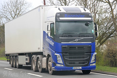 Volvo FH Bannister WX66 XLJ (SR Photos Torksey) Tags: truck transport haulage hgv lorry lgv logistics road commercial vehicle freight traffic volvo fh bannister