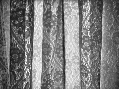 Curtain Pattern (craig_schenk) Tags: curtain pattern lines shape graphics graphicelements bw blackwhite verticallines detail details abstract art artistic abstractart iphone iphone5s iphoneography iphonephotography abstractphotographysnapseedschenkmonochromefabricfine form composition