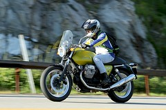 Moto Guzzi V7 Café 1706141674w (gparet) Tags: bearmountain bridge road goattrail goatpath scenic overlook outdoor outdoors motorcycle motorcycles motorcyclist windingroad curves twisties