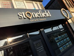 Stonefield (Owen Kerr Signs) Tags: signs signage outdoorsignage lightbox officesignage retailsignage shopsignage realestatesignage propertysignage freestanding modular fascia pavement safety wayfinding glassetching manifestations windowgraphics canvasprints acrylicprints decals murals owenkerr owenkerrsigns ayr ayrshire glasgow edinburgh scotland uk stonefield estate agents stonefieldestateagents illuminated