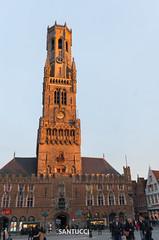_DSC1846 (Eric Santucci) Tags: belfry bruges mainsquare belfort brügge belgium architecture building city grotemarkt
