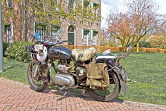 Royal Enfield Bullet 500 1955 (6916) (Le Photiste) Tags: clay royalenfieldinredditchworcestershireuk royalenfieldbullet britishmotorcycle britishmotorbike motorcycle motorbike ancientmotorcycle oldmotorcycles mp66xv sidecode4 1955 2016horsepowerrun thenetherlands afeastformyeyes aphotographersview autofocus alltypesoftransport artisticimpressions allkindsoftransport blinkagain beautifulcapture bestpeople'schoice creativeimpuls canonflickraward cazadoresdeimágenes digifotopro damncoolphotographers digitalcreations django'smaster finegold fairplay friendsforever greatphotographers gearheads bloodsweatandgears giveme5 hairygitselite livingwithmultiplesclerosisms lovelyflickr myfriendspictures mastersofcreativephotography niceasitgets ngc photographers prophoto photographicworld planetearthtransport planetearthbackintheday photomix soe simplysuperb slowride saariysqualitypictures showcaseimages simplythebest simplybecause thebestshot thepitstopshop themachines theredgroup thelooklevel1red yourbestoftoday wheelsanythingthatrolls wow veenhuizenthenetherlands