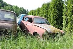 Skoda Felicia Kombi (MilanWH) Tags: autovrakoviště scrapyard czech rust épave skoda felicia kombi