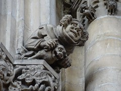 Capital carving, York Minster (Kniphofia) Tags: yorkminster carvings stonework capitals