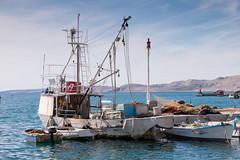 Port de Pag (archipel des Kornati) (G Dubuc) Tags: croatie mer barques églises ruines