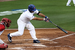 Mike Rivera RBI Single (dbadair) Tags: florida gators uf university sec baseball ncaa regionals gainesville 2017 college world series winners first national title omaha