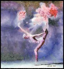 Dance to Dust (Leo Bar) Tags: painting dance danza digitalart colors compositing texture leobar pixinmotion dusting netartii