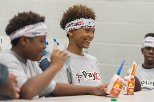 ATL Falcons NFL PLAY 60 FitnessGram Project