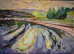Edvard Munch - Waves against the Shore, 1912 at Munchmuseet Oslo Norway (mbell1975) Tags: oslo norway no edvard munch waves against shore 1912 munchmuseet norge noreg norwegen noruega norvège norvegia 노르웨이 挪威 норвегия norwegian museum museo musée musee muzeum museu musum müze museet finearts fine arts gallery gallerie beauxarts beaux galleria painting expression expressionism expressionist