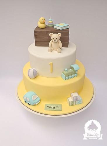 Toy theme cake