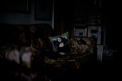 At home with Lisa (alias archie) Tags: monalisa lagioconda lisagherardini leonardodavinci nikondf nikkor50mmf12ais manualfocuslens f12