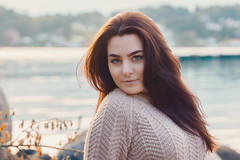 (Øyvind Bjerkholt (Thanks for 41 million+ views)) Tags: hair brunette face look eyes outdoors glamour fashion beauty beautiful gorgeous pretty woman girl canon elegance classy feminine arendal norway naturallight