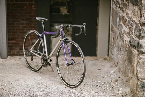 Andrew's road bike