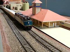VIA 6403 (Trains By Perry) Tags: hoscale ho hotrak may2017 via viarailcanada f40ph2d rebuild