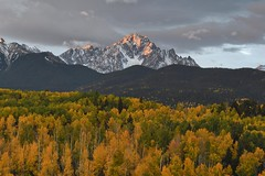 Mt. Sneffels, Colorado (jkrieger84) Tags: nikon d500 landscape nature mtsneffels colorado sanjuan mountains sunrise fall aspen