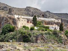 Moni Kapsa (east of Makry Gialos on the road to Goudouras). (Ia Löfquist) Tags: crete kreta monastery kloster ortodox orthodox kapsa