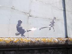 Seesaw Kids Flyposter (Trafalgar Street, Brighton) (The Lens of Lucid Frenzy) Tags: art graffiti streetart brighton posters