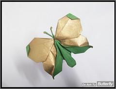 Butterfly v.1.0 (Đỗ Anh Tú) Tags: butterfly origami đỗ anh tú