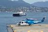 Burrard Pacific Breeze (wfung99_2000) Tags: cghjj cbc7 s76a vancouver heliport harbour helijet translink seabus burrardpacificbreeze