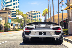 Weissach Porsche 918 Spyder (Axion23) Tags: weissach porsche 918 spyder liquid metal silver acid green delete fashion island newport beach