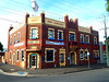 Sir Charles Hotham Hotel - Geelong (IDH Mackinnon) Tags: sit charles hotham hotel geelong victoria victorian australia australian aussie 2016 id hearn mackinnon old fading historic building architecture architectural federation style era 20th century twentieth early urban western brick red photographer