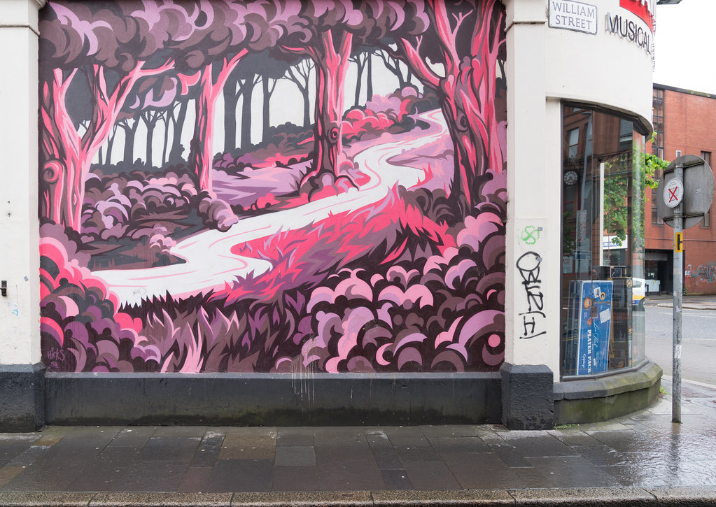 STREET ART AND GRAFFITI IN BELFAST [ANYTHING BUT THE FAMOUS MURALS]-129130