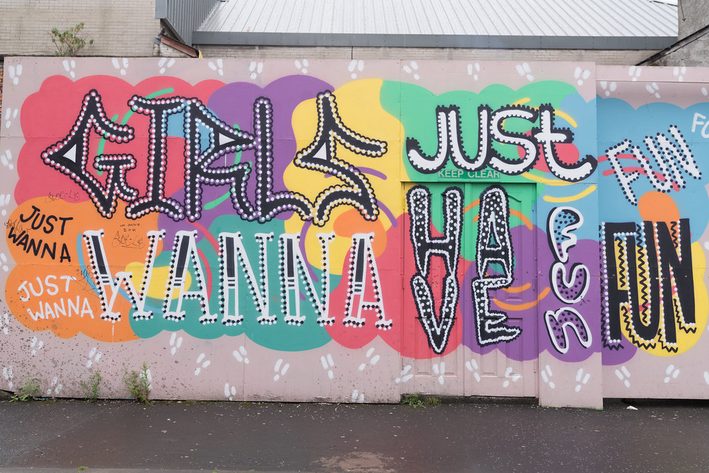 STREET ART AND GRAFFITI IN BELFAST [ANYTHING BUT THE FAMOUS MURALS]-129145