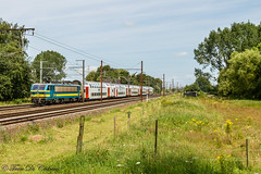 NMBS HLE 2746  Duffel (Tren di Cédrico) Tags: 2746 nmbs sncb duffel m6 dubbeldekker bombardier alstom hle ic l25 l27a train trein t27