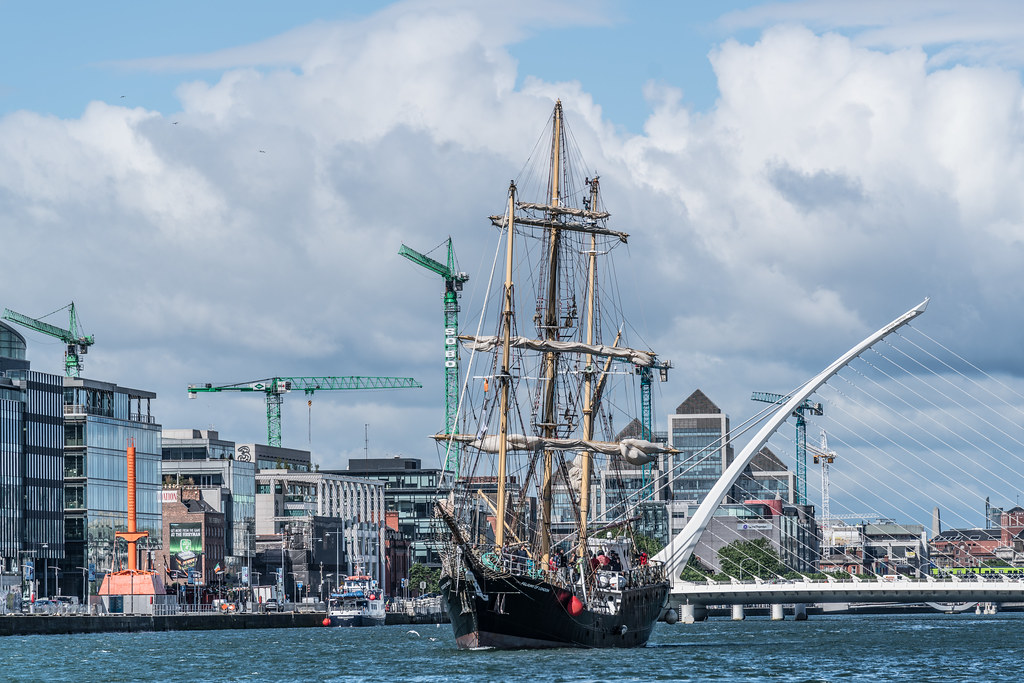 PELICAN OF LONDON [TALL SHIPS LEAVING DUBLIN PORT TUESDAY JUNE 6 2017]-129380