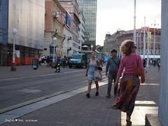 Trg bana Jelacica square, from Jurisiceva street