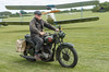 IMG_2059 Army BSA M20 (Beth Hartle Photographs2013) Tags: shuttleworthcollection oldwarden historic historicaircraft vintage vetran vehicles airshow royalnavy usnavy motorbikes bsa bsam20 dh60moth wwii britisharmy