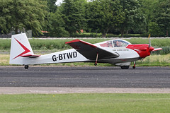 G-BTWD (QSY on-route) Tags: gbtwd lincoln aero club mid summer fly in sturgate 04062017