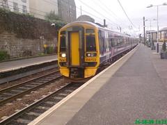 158703 (Rob390029) Tags: first scotrail dmu diesel multiple unit transport transportation travel class 158 158703 edinburgh haymarket railway station hym ecml east coast mainline