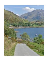 Arnisdale .. (Harleynik Rides Again.) Tags: arnisdale road glenelg highlands scotland westcoast lochhourn harleynikridesagain
