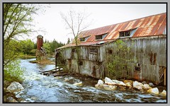Balaclava Ghost Town (Note-ables by Lynn) Tags: fallingapart abandoned sawmill ghosttown balaclavaontario