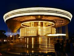 The enchanted merry-go-round. (LES PHOTOS DE LOÏC) Tags: handheld long exposure lumixg7 dmcg7 lumixgm1 dmcgm1 micro43 microfourthirds lumix20mm17 wherelumixgoes carrousel lumixandme merrygoround longexposure longexposureshots lepouliguen