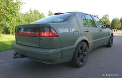 SAAB 9000 Army Green (Bo Ragnarsson) Tags: saab army mattegreen armygreen militärgrön saab9000 armysaab boragnarsson bo ragnarsson groomlake saab9000cseturbo trollhättan saabcars saabnation saaben saabar saablovers lovesaab