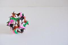 Pisidia Kusudama (Byriah Loper) (Byriah Loper) Tags: origami origamimodular modularorigami modular byriahloper paperfolding paper polyhedron polygon pentagonal kusudama dodecahedron geometric kami