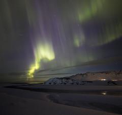 Iceland (richard.mcmanus.) Tags: iceland vik arctic night landscape northernlights mcmanus auroraborealis winter snow mountains