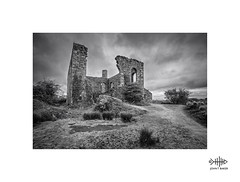 After the gold rush.. (silver/halide) Tags: tinmine cornwall coppermine copper tin whealfrancesmine kernow johnbaker poldark decay derelict remains industrial granite greatflatlode abandoned mono monochrome blackandwhite bw mininghistory