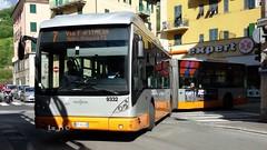 AMT 9332 (Lu_Pi) Tags: amt genova vanhool ag300 autobus busarticolato autosnodato amtgenovalinea7